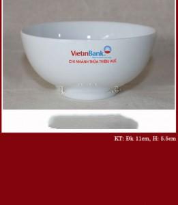 Bát ăn cơm Vietinbank