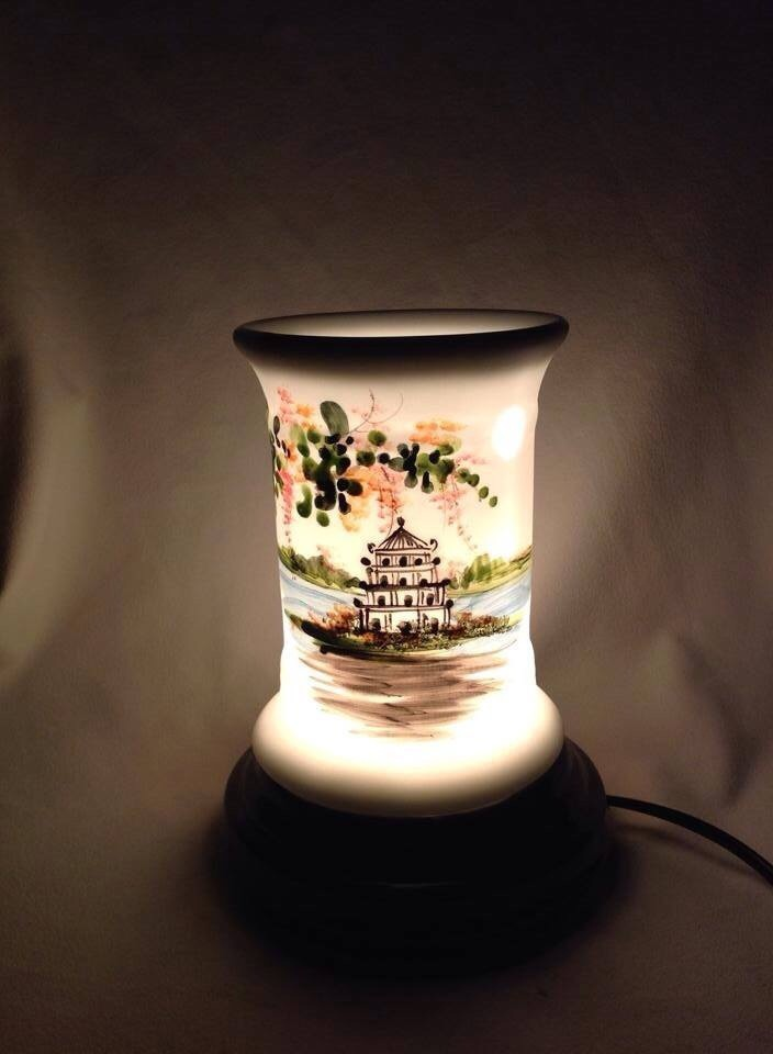 Đèn đốt tinh dầu điện TD02