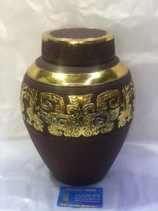 Chum sành ngâm rượu dát vàng 6,8 lit