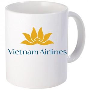 Cốc sứ in logo Vietnam Airlines