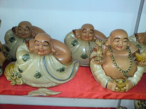 Tượng Phật Di Lăc no đủ