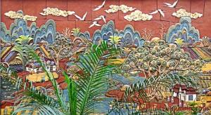 Tranh gốm Hồn Việt