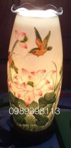 Đèn xông tinh dầu dáng cao