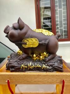 Linh vật kỉ hợi- Lợn dát vàng 2019