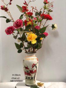 Lọ cắm hoa bát tràng